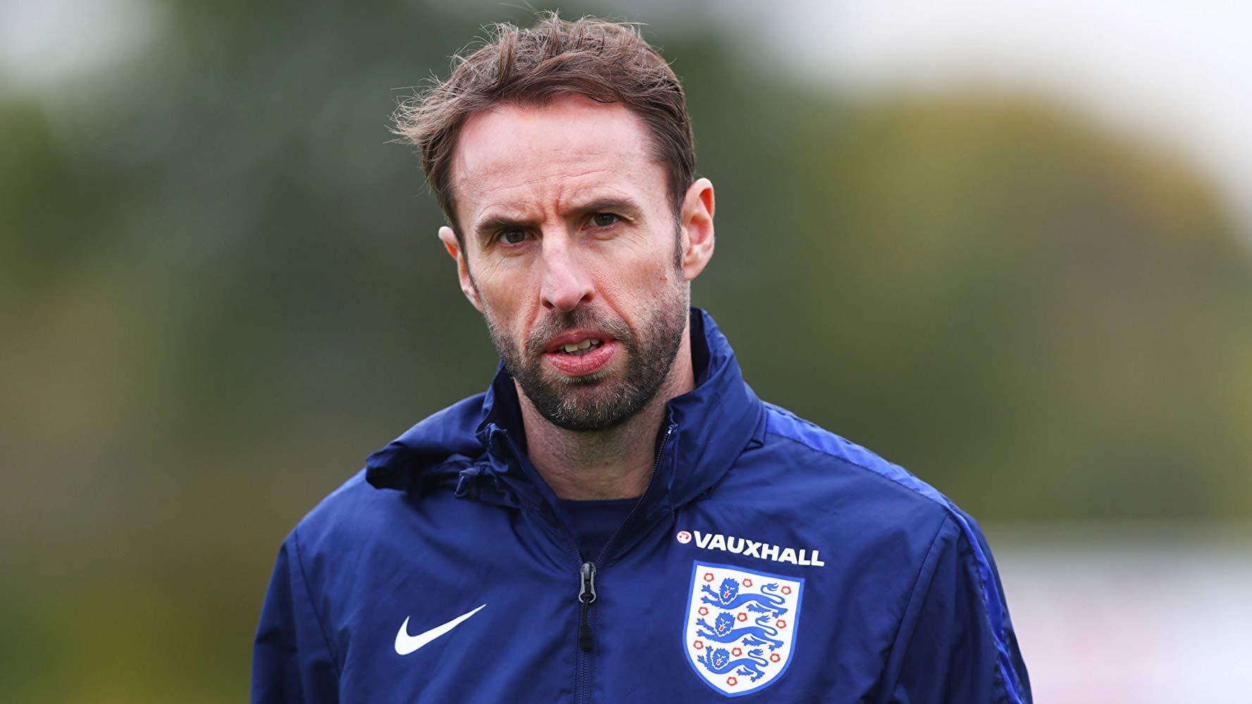 Тренер английской сборной по футболу Гарет Саутгейт