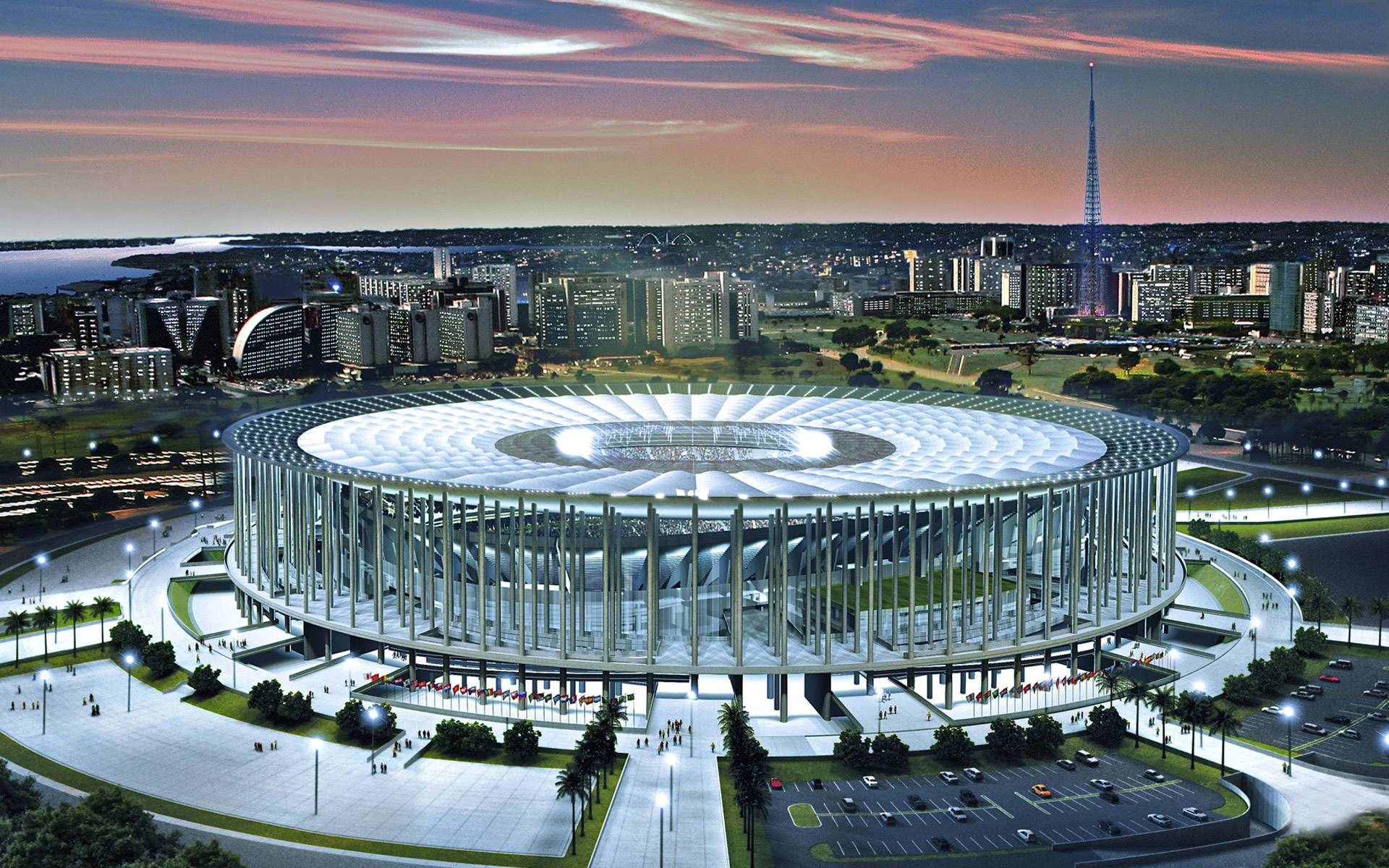 Стадион «Национальный», Бразилия