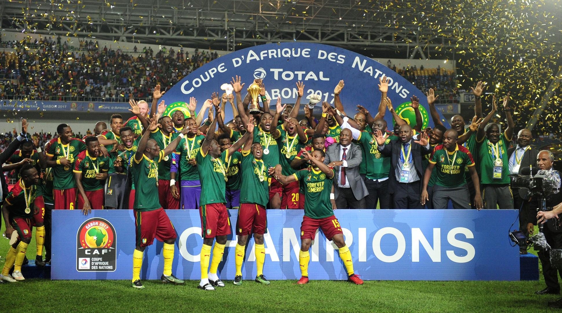 Сборная Камеруна - победитель кубка африканских наций 2017