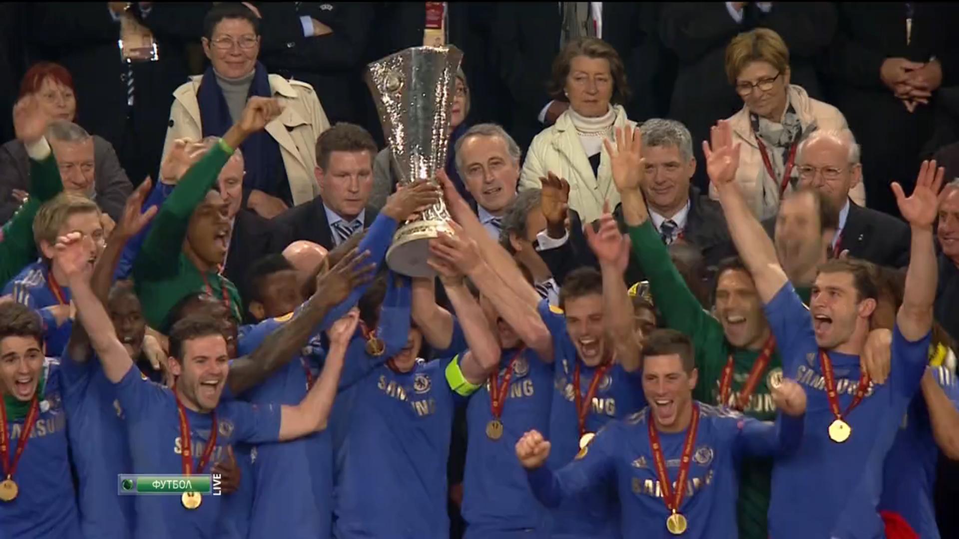 Победный матч в финале Лиги Европы против Бенфики