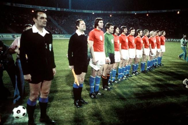 Сборная Чехословакии - победители ЧЕ 1976